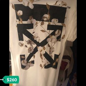 Brand new off white shirt xs